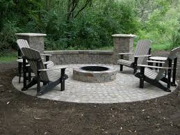 dining table fire pit black patio