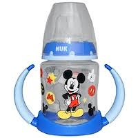 NUK, Disney Baby, Mickey Mouse <b>Learner Cup</b>, <b>6</b>+ Months, 1 Cup ...