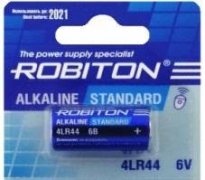 <b>Батарейка</b> специальная 476A (<b>4LR44</b>), 6В, <b>Robiton</b>