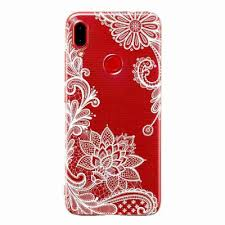 A <b>TPU Hollow Flower Painting</b> Phone Case for Xiaomi Redmi ...