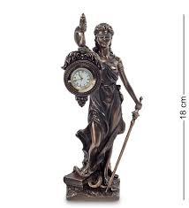 "Предметы интерьера <b>Veronese</b>. WS-696 <b>Статуэтка</b>-часы ""<b>Фемида</b>"