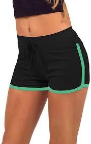 Yoga Elastic Shorts,Summer Women Sport Shorts ... - Amazon.com