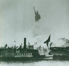 「1886, statue of liberty opening ceremony」の画像検索結果