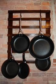mounted hanging kitchen pan pot  ideas about pot rack hanging on pinterest pot racks pan storage and h