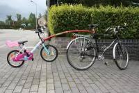<b>Прицепные устройства детского велосипеда</b> к взрослому в ...