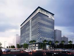 downtown sanya office building hainan jufang urban design build a office