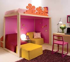 Kids Bedroom For Small Spaces Colorful Kids Bedroom Ideas For Small Space With Practical Loft