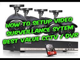 How to setup video surveillance CCTV DVR system guide, Annke ...