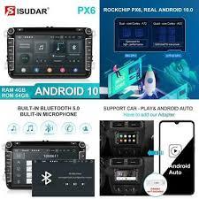 Isudar Px6 <b>2 Din Android 10</b> Car Radio For Skoda/Seat/Volkswagen ...
