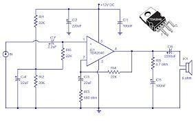 tda car amplifier circuit  circuit diagramtda car stereo amplifier circuit