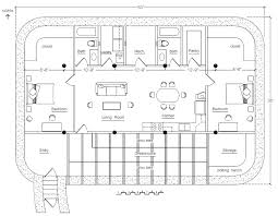 Affordable  Superinsulated Cold Climate Homes   Natural Building BlogPreliminary Solar Pit House design  click to enlarge