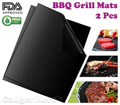 Gadget Hero's <b>Non</b>-<b>Stick</b> Barbeque <b>Grill Mats</b> for BBQ and Baking ...