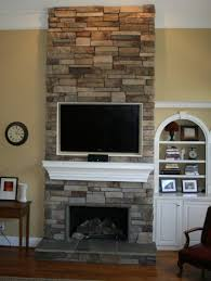 fireplace build home office header