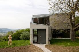 Concrete And Glass House   Modern House Designs   Page Modern German Architecture   Unusual Concrete House Plan