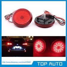 LY002 1 Free shipping <b>1 Pair Rear</b> LED <b>Reflector Bumper</b> Light ...