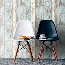 Grandeco <b>Rustic Wood</b> Teal Paste the Wall <b>Wallpaper</b>   Homebase