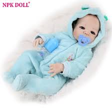 Aliexpress.com : Buy <b>22 inch</b> Reborn Baby Doll <b>55cm</b> Boy Blue Full ...