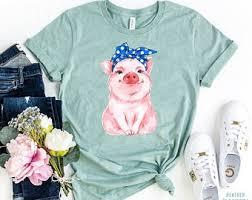 <b>Pig tshirt</b> | Etsy