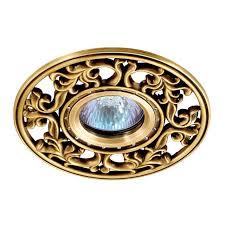 <b>369987 SPOT</b> NT15 119 светлая бронза/хрусталь Встраиваемый ...