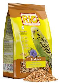 <b>RIO Budgies</b> Moulting Period. <b>Корм для</b> волнистых попугаев, в ...