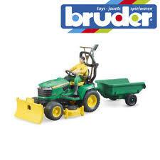 <b>BRUDER</b> трактор <b>John Deere</b> современное производство литые ...