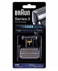 <b>Braun</b> | <b>Series 3 31S</b> Foil & Cutter Shaver Replacement Part ...
