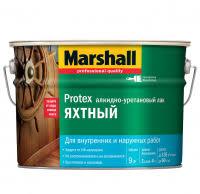 <b>Лак алкидно</b>-<b>уретановый</b> Marshall <b>Protex</b> Яхтный глянцевый 9 л ...