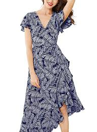 Miusol <b>Women's Flare</b> Floral Short Sleeve <b>Summer</b> Party Dress at ...