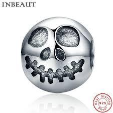 2019 <b>INBEAUT Hot Sale 100</b>% 925 Sterling Silver Ghost Face Skull ...