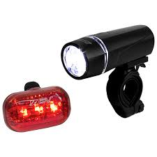 BV 5 <b>LED</b> Front Light & <b>3 LED</b> Tail light, Quick Release Mount | BV ...
