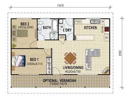 Granny flat plans  amp  granny flat designs from House Plans    granny flat design