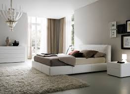 minimalist captivating white bedroom