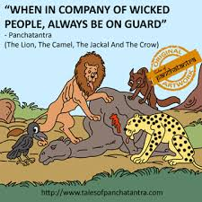 The Lion, <b>Camel</b>, Jackal and the Crow | Panchatantra