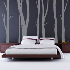 paint ideas painting black inspiring cool bedroom design with lovely tree wallpaper on dim grey wall awesome design black bedroom ideas decoration