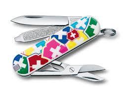 """Купить <b>Нож</b>-<b>брелок</b> Victorinox Classic """"<b>VX Colors</b>"""", <b>58 мм</b>, 7 ..."""