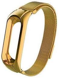 Crysendo Metal <b>Strap</b> Milanese Watch <b>Band Pure</b> Gold <b>Smart Watch</b> ...