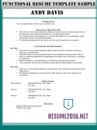 functional resume format how to highlight skills functional resume format 2016