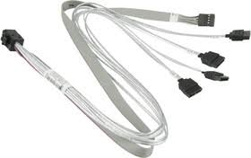<b>CBL</b>-<b>SAST</b>-<b>0616</b>, <b>Кабель SuperMicro Internal</b> Mini SAS HD to 4 ...
