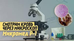 Лабораторный <b>Микроскоп Микромед Р-1</b> LED   ОБЗОР - YouTube