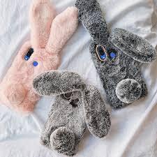Cute <b>Fluff</b> Bunny Case Vivo Case for Vivo Y91C Y11 Y15 V15 Pro ...