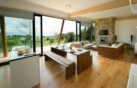 table and benches platform dining room large size modern apartment kitchen in the living room furnished with brown wooden antis kitchen furniture