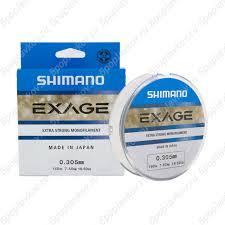 <b>Леска Shimano Exage</b> Line (<b>150 м</b>) по цене 300 руб. Купить в ...