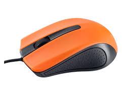 <b>Мышь Perfeo</b> USB 1 8m Black-Orange PF 3441 - Агрономоff
