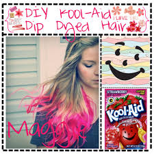 DIY Kool Aid Dip-Dyed Hair - Polyvore