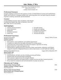 nurse resume skills      unit registered nurse resume examples to    medical resume examples   medical sample resumes   livecareer