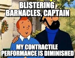 Blistering Barnacles, Captain - Tintin meme on Memegen via Relatably.com