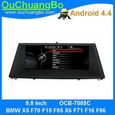 <b>Ouchuangbo</b> android 4.4 <b>car</b> radio <b>gps navi</b> for X5 F70 F15 F85 X6 ...