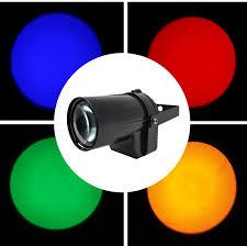 <b>Hot sale</b> Mini 3W 200 220LM LED SpotLight <b>DJ</b> KTV Party Dsico ...