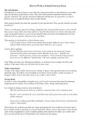 cover letter example critical essay a critical essay example cover letter best photos of sample critical essay analysis format exampleexample critical essay large size
