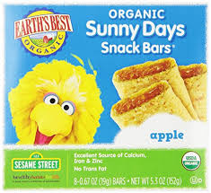 Earth's Best <b>Organic Sunny Days</b> Snack Bars Apple 8 Count (Pack ...